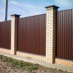 забор-коричневый